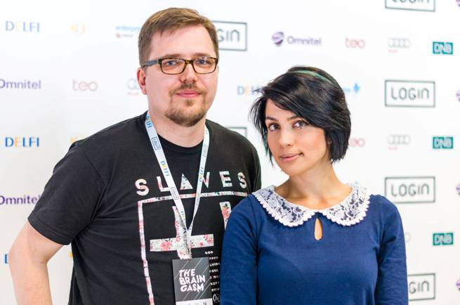 Saulius Rimkus ir Nadya Tolokonnikova